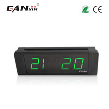 "[GANXIN]1"" 6 Digits Low Voltage Led Alarm Clock Wall Mounted"