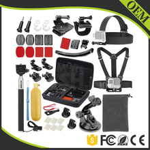2016 Hot Sale Gopros Accessories Set Combo Kit,OEM Go Pro Accessories Pack