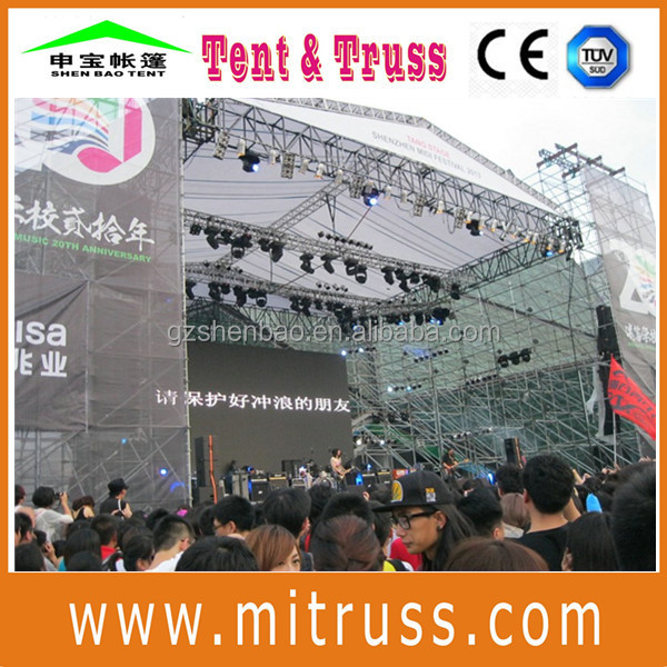stage truss canopy c channel roof truss