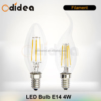 2015 Cost Effective C37 E27 E14 led candle light bulbs 5w 4W 3W led lamp
