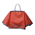 High Quality new design waterproof polyester foldable handbag raincoat