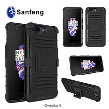 Wholesale Price For OnePlus 5 Tough Armor Case with Kickstand for OnePlus 5 Holster Cover Case