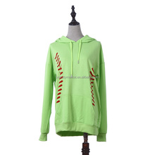 Wholesale Personalized Fashion Softball Pullover Hoodies