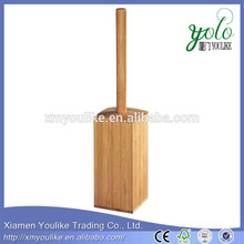 Natural Bamboo Toilet Brush holder