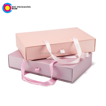 sliding paper cardboard drawer gift garment packaging storage box