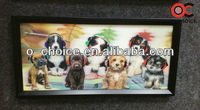 CK-9 Famous Hall Decoration New Fashion 3d Dogs Anime Pictures Paintings