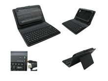 2013 Hot-selling Wireless Leather Case Bluetooth Keyboard for Samsung p1000