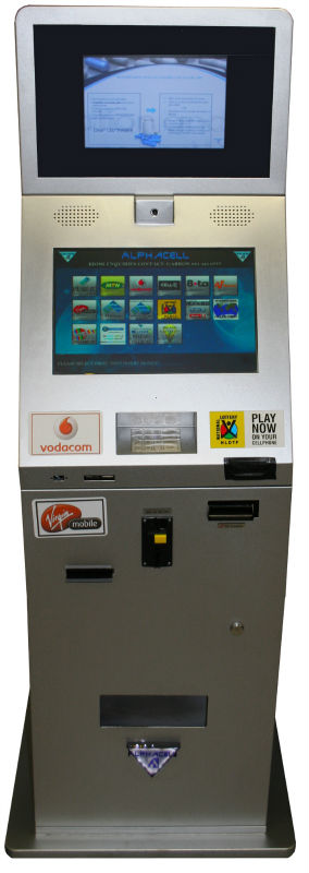 TOUCH SCREEN SELF SERVICE PAYMENT KIOSK