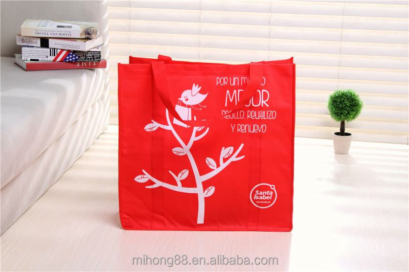 New Arrival Simple design printed tote non woven bag manufacturer sale
