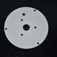 alumina ceramic plate white heat resistant ceramic cookware parts