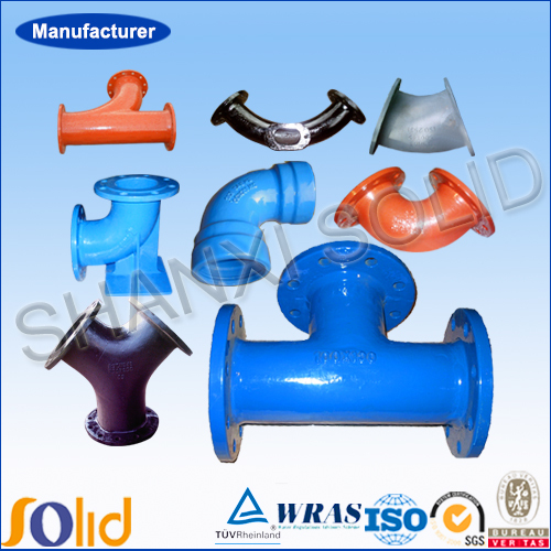 ductile iron pipes and fittings