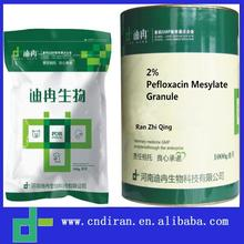 Wholesale Chicken Uses Drugs Antimicrobial Agent 2% Pefloxacin Mesylate Granule