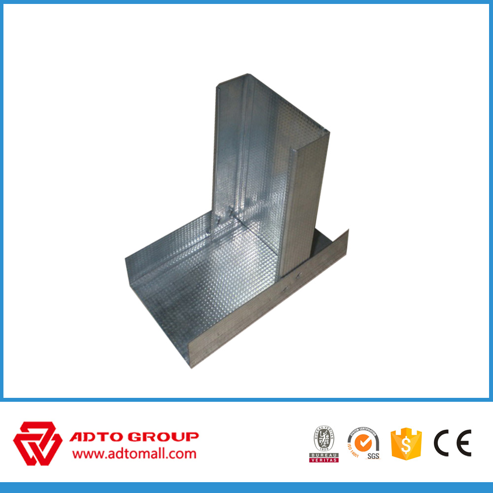 Drywall Metal steel Gypsum stud Profile for indoor construction