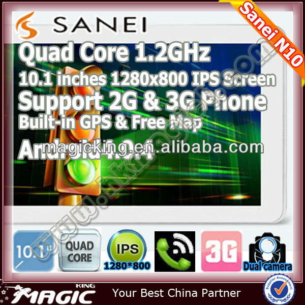 3G tablet android 10.1 inch quad core