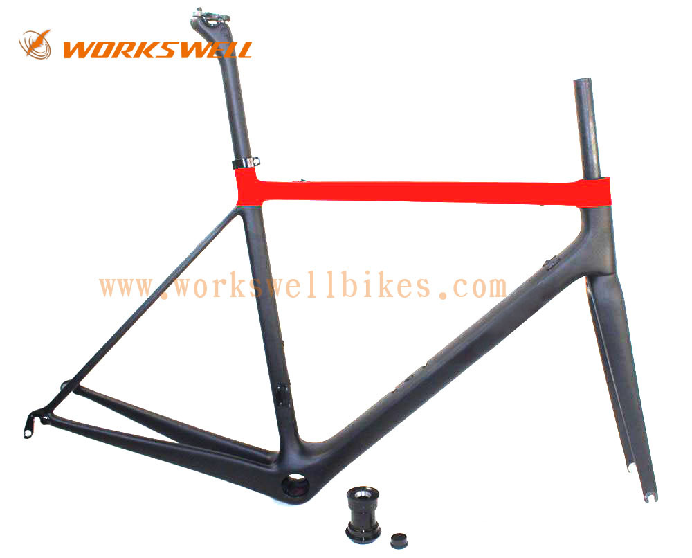 Hot new products for 2015 Best price carbon road bike frame Workswell bike WR066