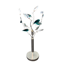 classic crystal touch table light for wedding table decorations