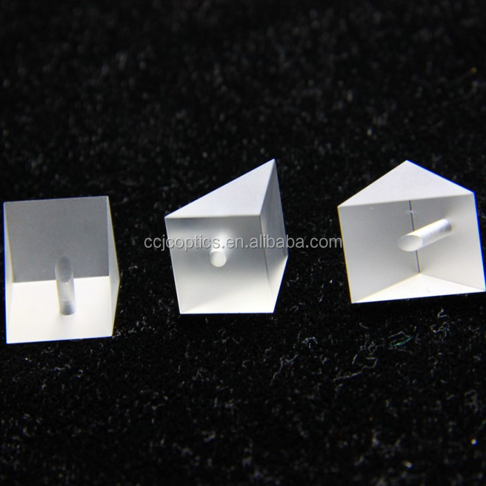 equilateral triangular prism, high precise BK7 glass reflect prism