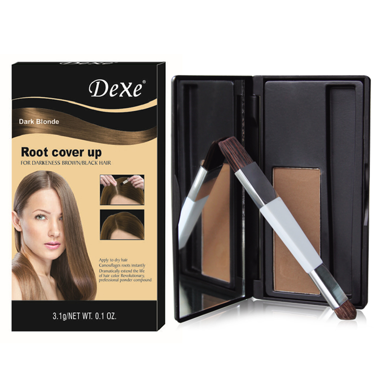 Dexe Hair Coloring Powder Hair Root Cover Hair Root Touch Up - Buy ...