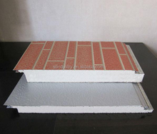 Engraved metal insulation Board/ Carved metal insulation board/embossed metal decorative wall sandwich panel