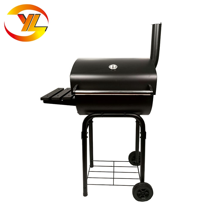 high quality half barrel barbeque grill,portable bbq pit