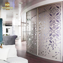 Keenhai customized laser cutting decorative metal outdoor wall partition screens