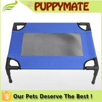 Wholesale Removable Washable elevated steel pet bed manufacturer with Knitted Fabric