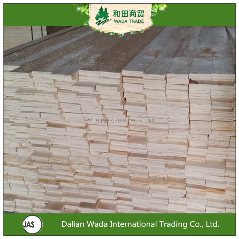 Wada export packing grade poplar\pine LVL for wood pallet making