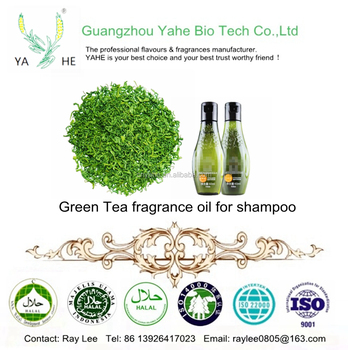 Concentrate Green Tea fragrance oil for hair products and shampoo making