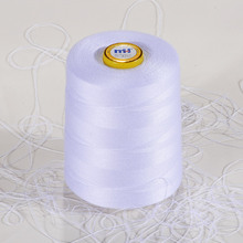 100% Polyester raw material sewing thread