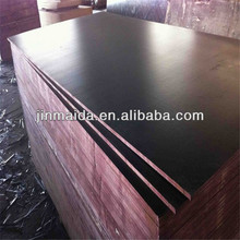 high quality 1220 X 2440 X 12mm black film faced plywood/shuttering plywood