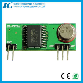 315MHz/433MHz High Sensitivity Super Heterodyne RF Receiver Module KL-CW01