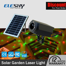 2017 new Solar power Laser light outdoor christmas light c9