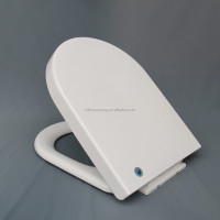 Soft Close Plastic PP Toilet Seat Cover SY-888