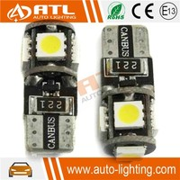 CANBUS, non-polarity, anti 18V electrical surge 12-14.5V most popular car led light with 5smd 5050 auto fog