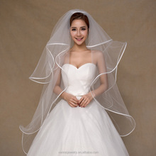 Wedding Accessories 2017 1m Bridal Veil Irovy Four Layers Long Veil Wholesale