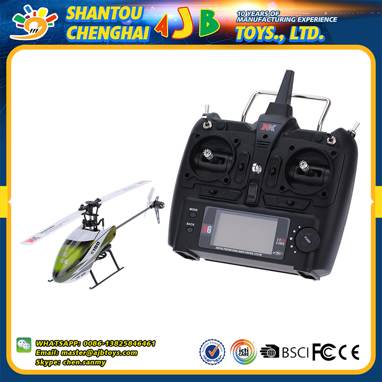 Original XK K100 6CH 3D 6G system brushless motor china rc drone radio fly sky helicopter