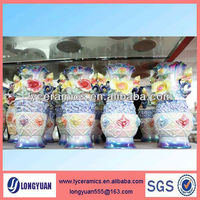 Hand made decorative ceramic cheap flower vases