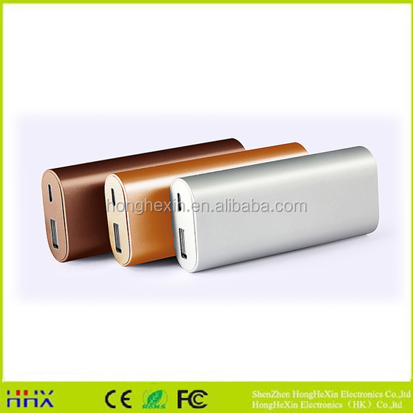 Hot sell new product 2017 new design colourful fashion protable power bank 5200mah
