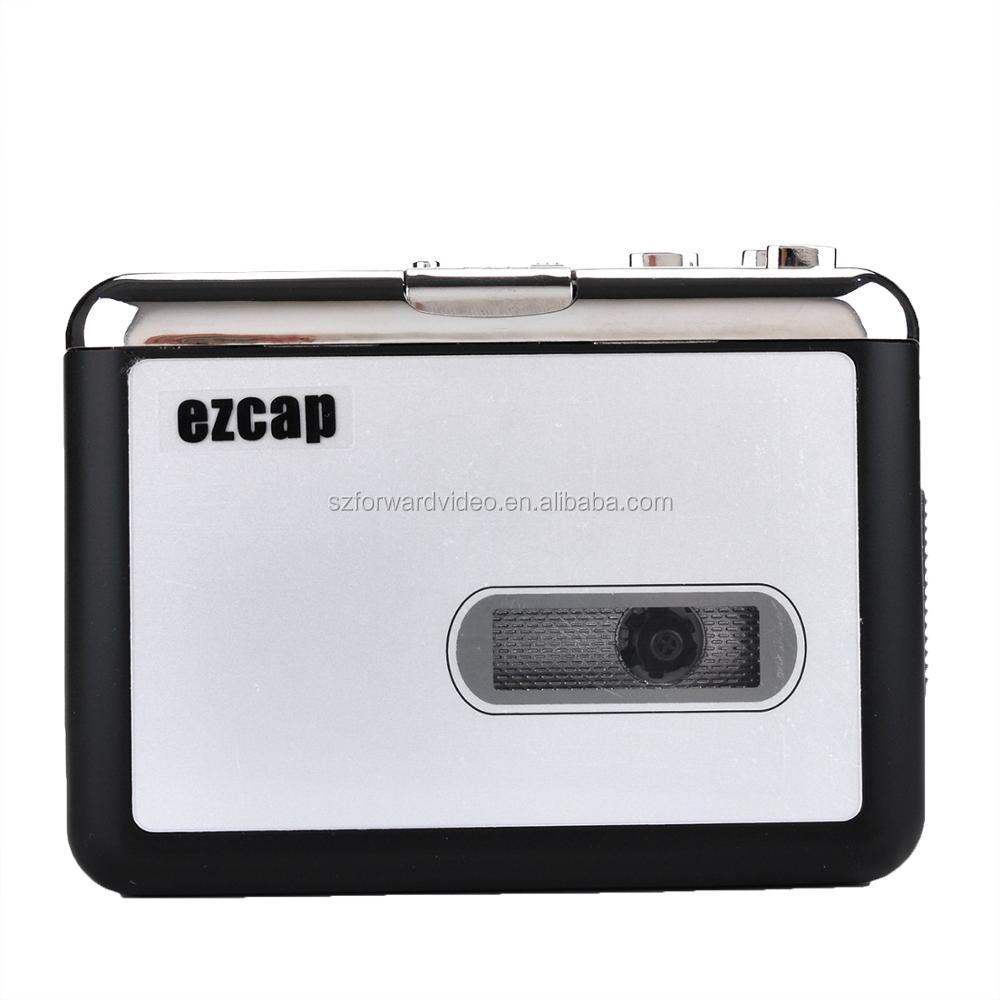 Mini walkman player cassette tape to cd MP3 USB2.0 cassette converter ezcap218-2
