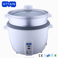 1.0 Liter to 2.8 Liters electric drum rice cooker and Steamer with automatic Keep Warm Function