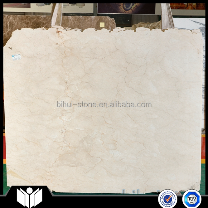 Lower Price Crema Marfil Marble Slab Than Spanish