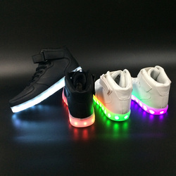 Most Popular LED Shoes for Adults High Top Shoes with LED Night Light