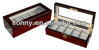OEM Style Amazing High Gloss Cherry Wooden Box Mothers Day Wholesale Gifts
