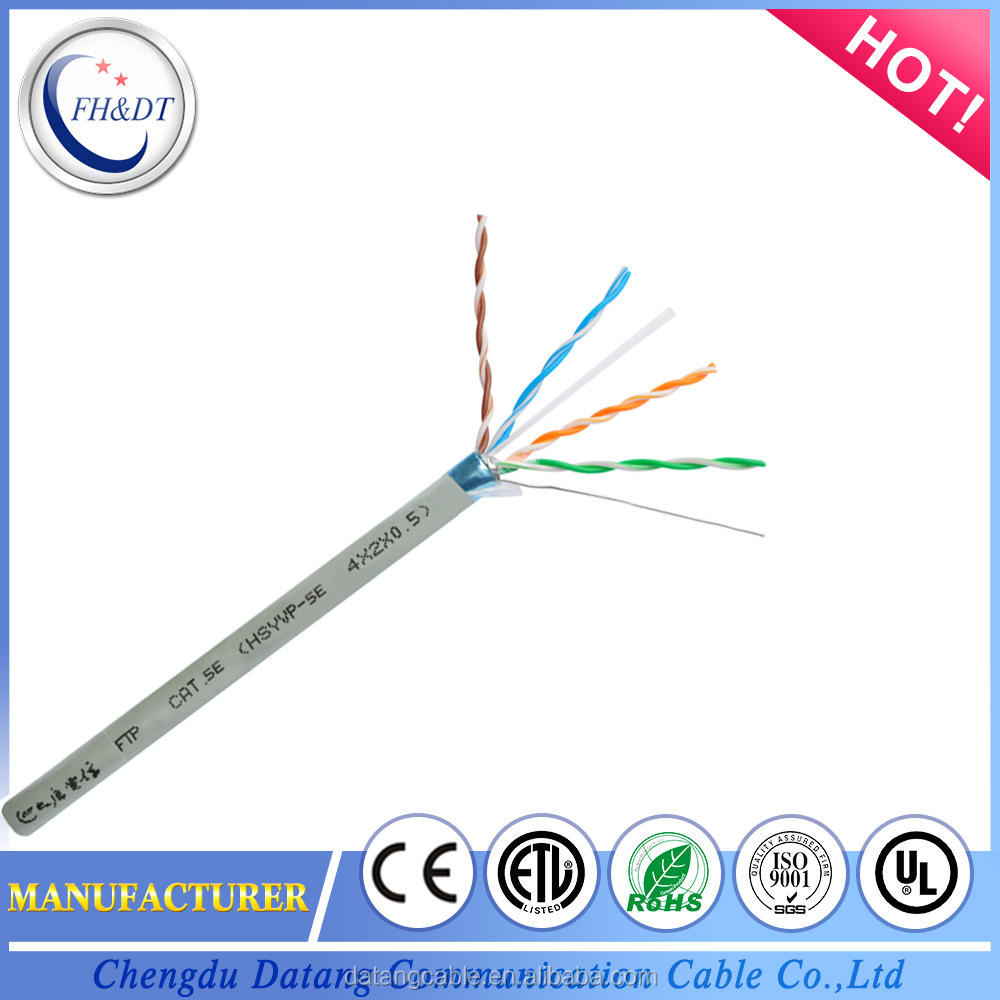 Factory Price UTP 24 awg Cat 5e Network Cable