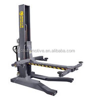 Manual release Hydraulic mobile single post car lift AASP-YY2.5