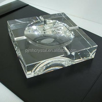 exquisite crystal ashtray for promotional gifts MH-G050