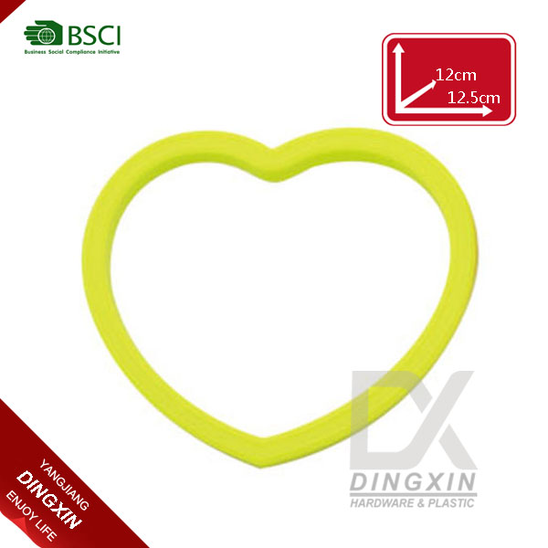 Cook tool heart shape silicone fried egg form