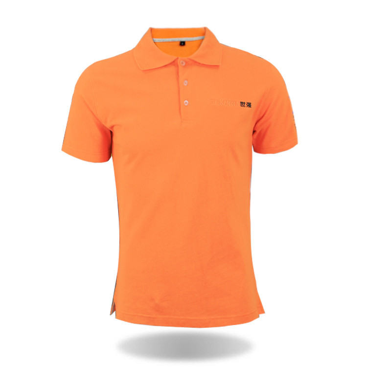 clothing manufacturers fashion embroidery logo <strong>orange</strong> polo shirt