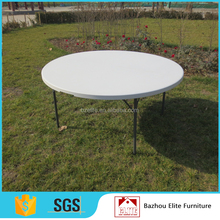 4FT Round Fold-in-half Table