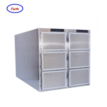 Stainless steel mortuary equipment refrigerator 6 bodies